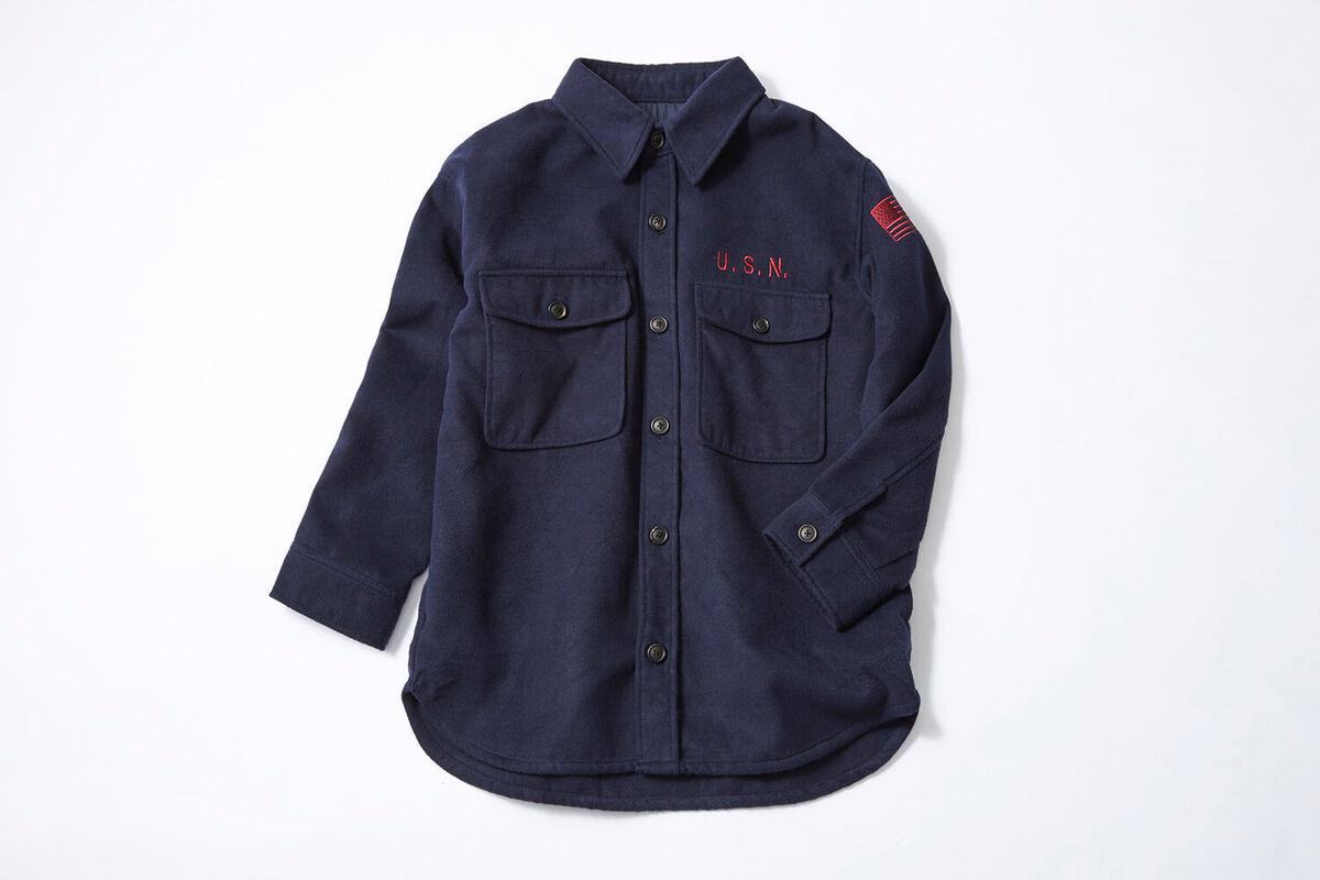 AVIREX / 起毛シャツジャケット 画像