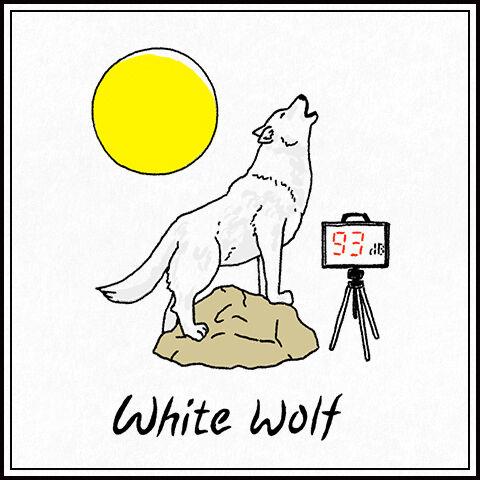 ホワイトウルフ(狼)