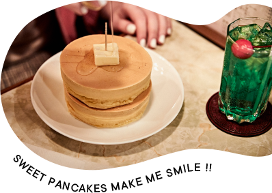SWEET PANCAKES MAKE ME SAMILE !!