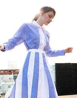 女性らしさを後押しする エレガントな春の服