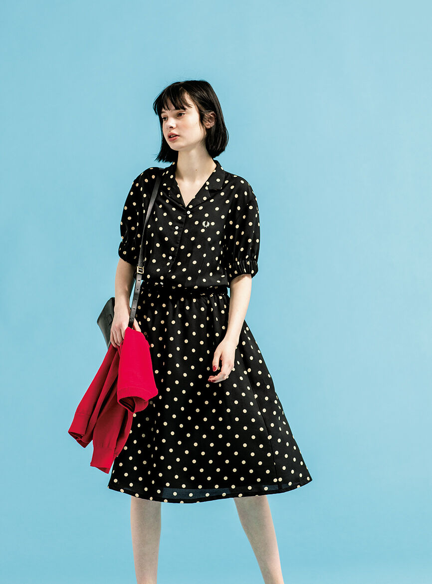 item1 | Dot Shirt Dress