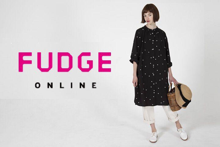 《今月のFUDGE ONLINE 新ブランドをご紹介》