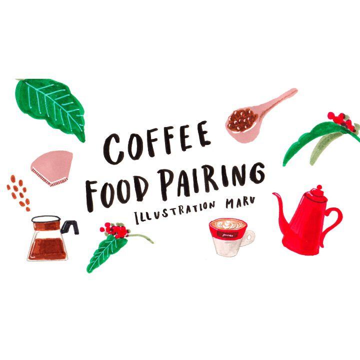 Starbucksハウスブレンド × 焼きりんごワッフル【FUDGENA:MARUのコーヒーフードペアリングvol.1】