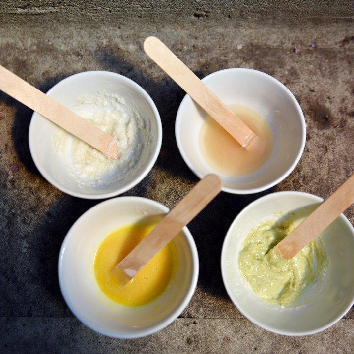 しっとり美肌に導いてくれる、アーモンドオイルのスキンケア用品の作り方。アボカドや卵などフレッシュな素材と組み合わせて