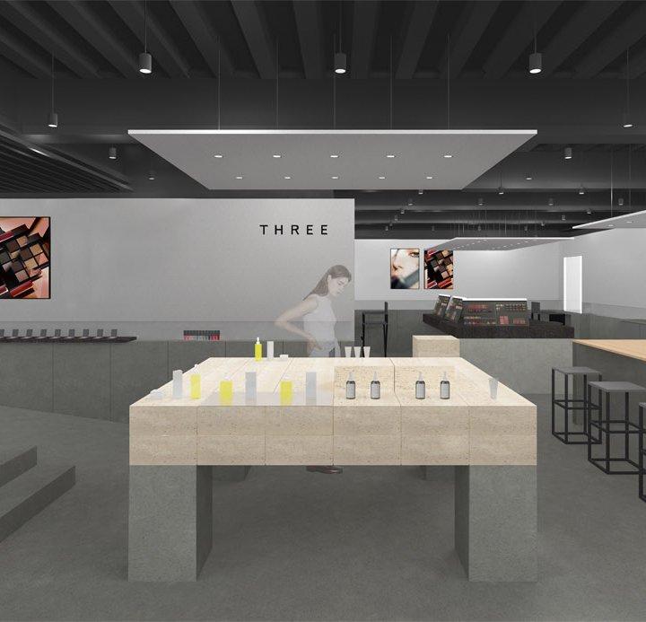 《THREE》の青山旗艦店が、11月1日リニューアルOPEN!店舗限定の布製ショッパーも登場