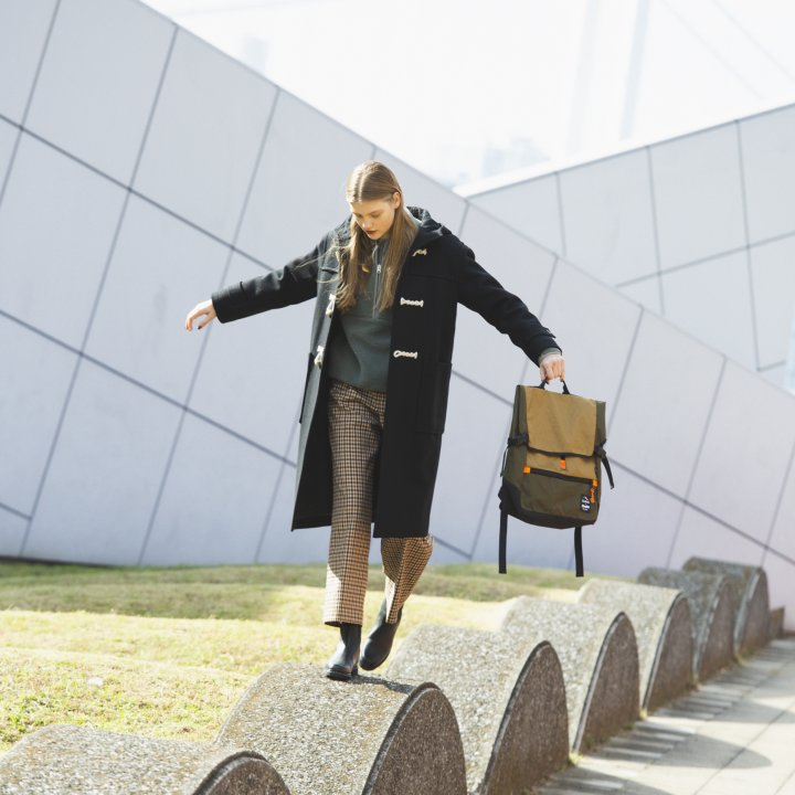 """冬スタイルに新鮮さを添えるボアジャケット【""""アウトドア""""ガールの着まわし31days】"""