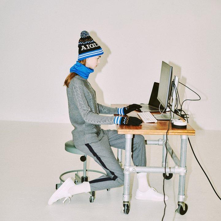 ウィンターファッションのユニークなアクセントに。《エーグル》のスキーヤー風ニット帽&グローブ【FUDGE GIRLのためのアクセサリークリップス】