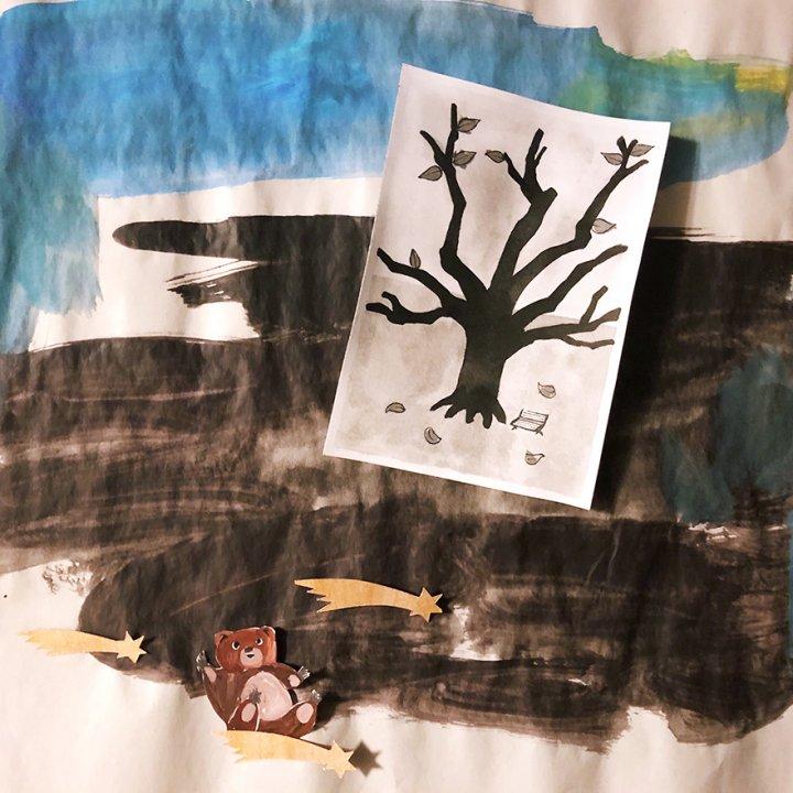 第19話:大きな木の根の下で / 冬眠中のはずの生きものたちの話 連載【誰かの話】