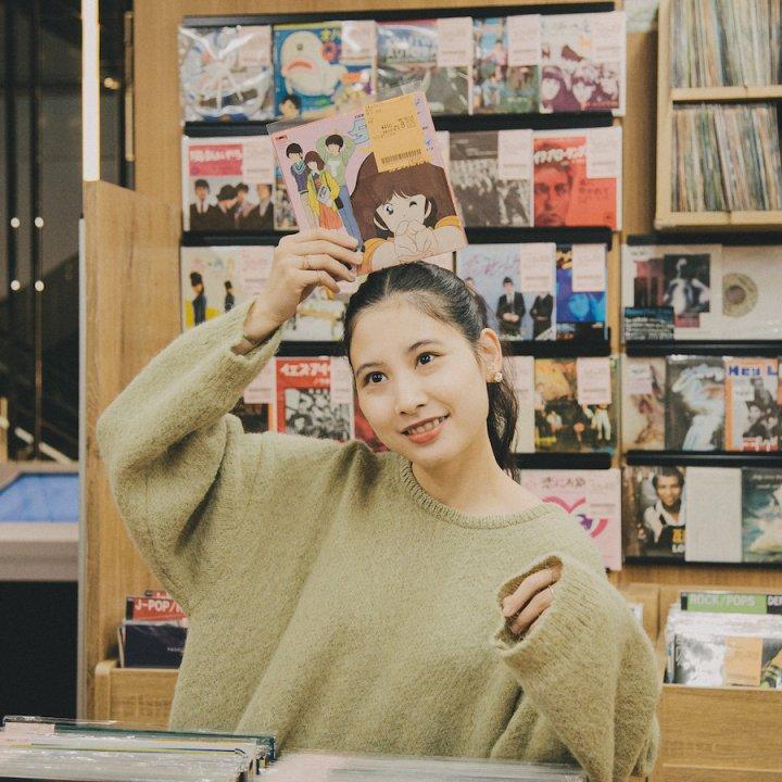 走馬灯ミュージック《ユニオンレコード渋谷》  【前田エマの東京ぐるり】