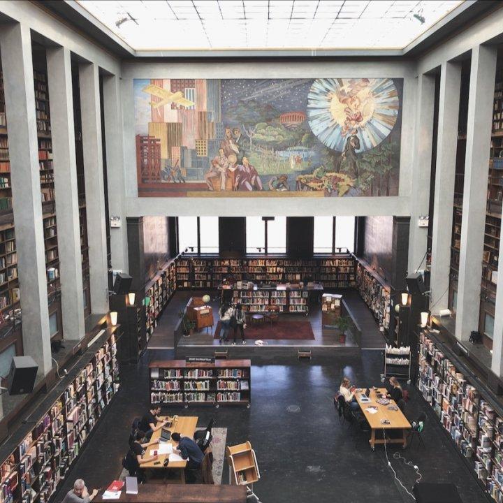 オスロで図書館のさらなる魅力を発見!【 FUDGENA:YUMIの My Nordic Life vol.13 】