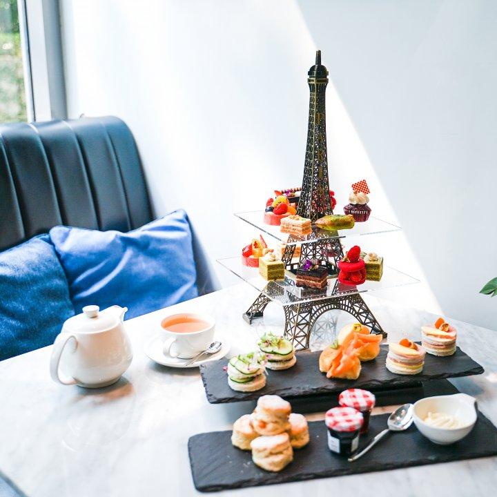 エッフェル塔に浮かぶケーキが大人気!パリスタイルのアフタヌーンティー@「CAFÉ CLAIRE」【週末アジア:バンコク編】