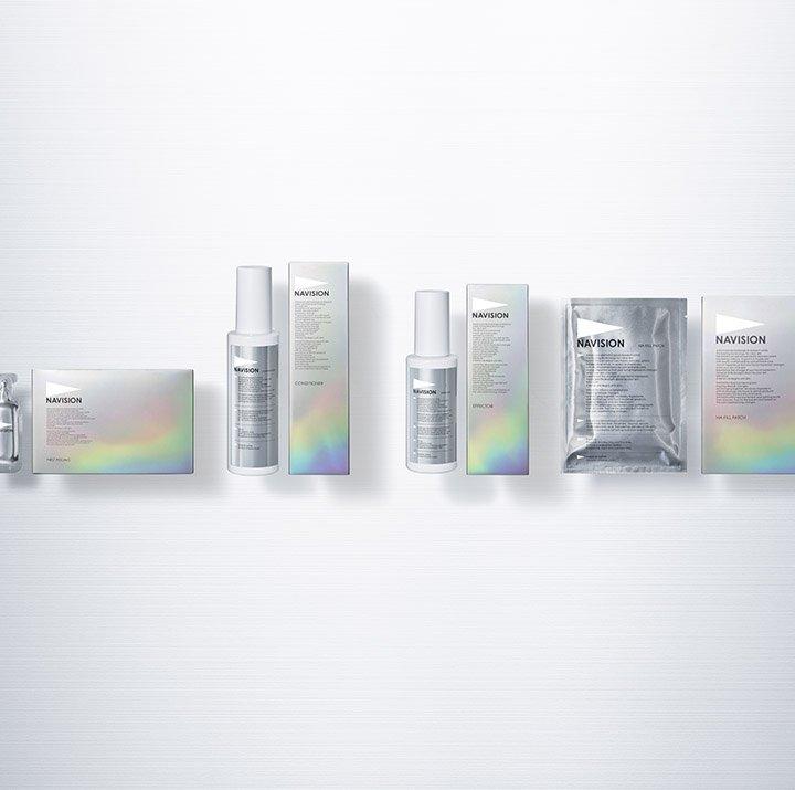 先進皮膚科学研究から開発された《ナビジョン》がコンセプトやパッケージをリニューアル