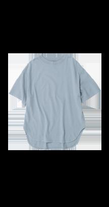テールチュニックTシャツ