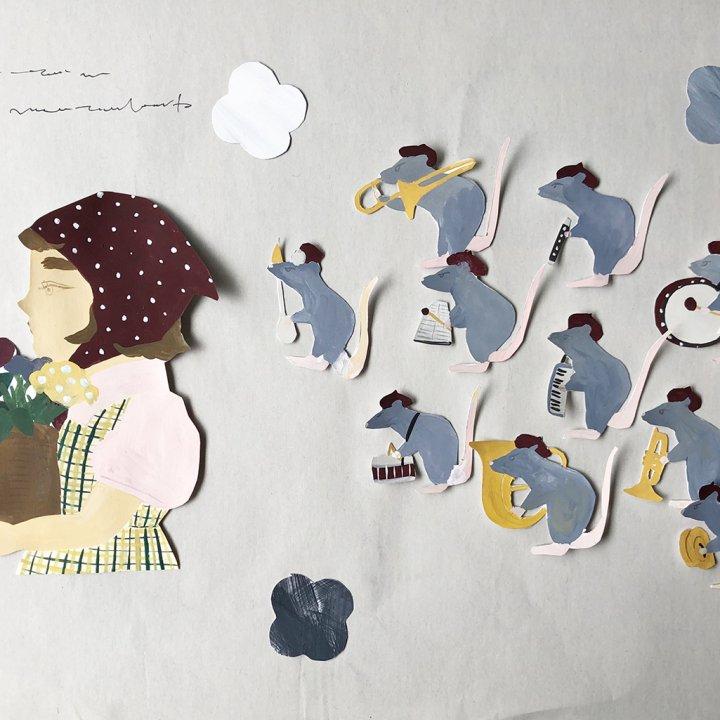 第36話:花売りトラップ / ジョージと花売りと10匹のねずみの話 連載【誰かの話】