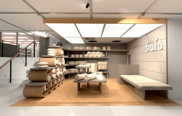 オーガニックの寝具ブランド「SaFo(サフォ)」が渋谷にオープン!