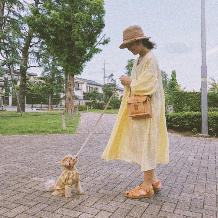 イエローな気分【 FUDGENA :Ranとビケ(愛犬)のライフスタイル vol.05 】