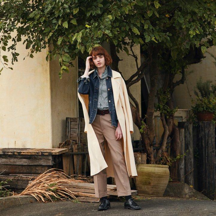 《ユニクロ/イネス・ド・ラ・フレサンジュ》70'sスタイルへの憧れをスパイスに、彼女が選ぶフレンチシック