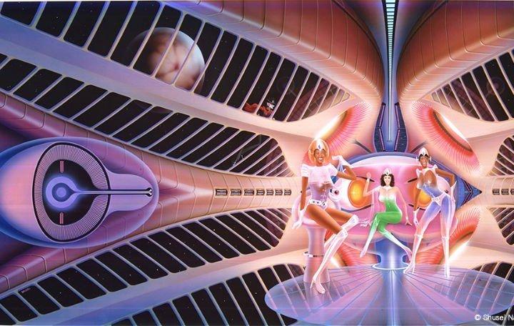 「長岡秀星回顧展 SPACE FANTASY –透明な宇宙を求めて–」が12月8日から開催。特別前売り券が発売中