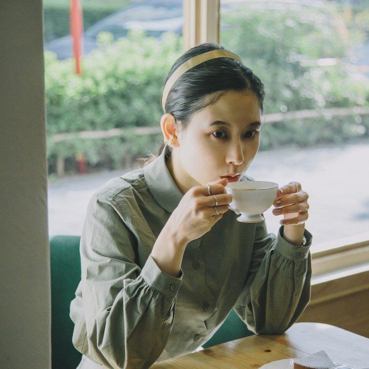 水鳥とビクトリアケーキ《茶室 小雨》【前田エマの東京ぐるり】