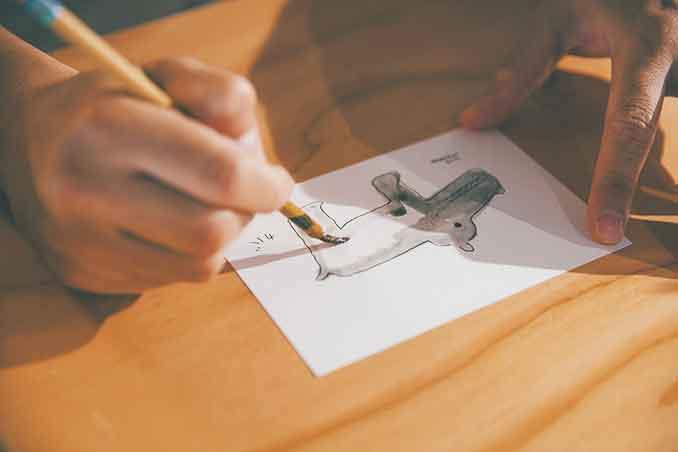 菊池亜希子さん目黒雅也さんにイラストレーションを学ぶ