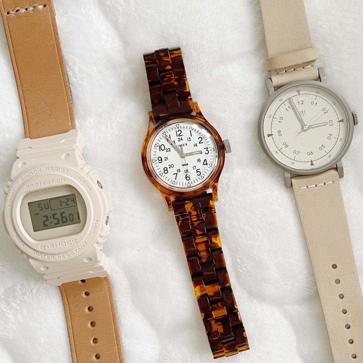 男女ともにオススメな腕時計をご紹介します【 FUDGENA SPECIALIST:kinokoのボーイズスタイルvol.37】
