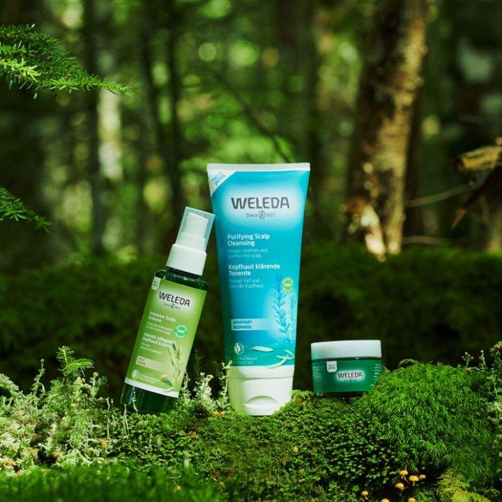 植物の恵みで健康的な頭皮を育てましょう|《WELEDA(ヴェレダ)》の新オーガニックヘアケアシリーズ