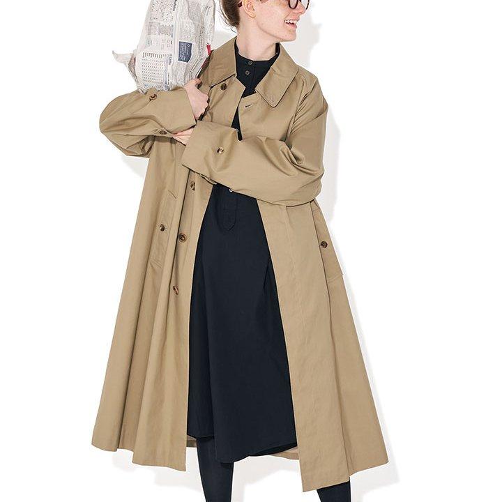 シンプルな着こなしをしたい日は、美しいシルエットを意識して【本日のFUDGE GIRL-2月22日】