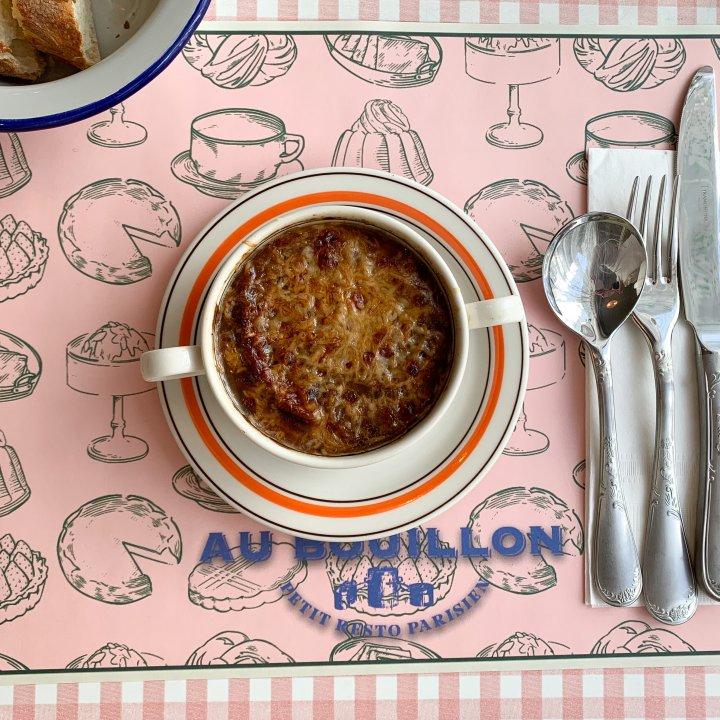 オニオンスープが絶品❤︎ ソウルの住宅街にできたフレンチレストラン「aubouillon」【週末アジア:ソウル編】