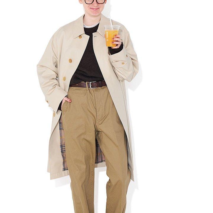 落ち着いた茶系グラデーションをイエローの靴で晴れやかに一新【本日のFUDGE GIRL-2月27日】