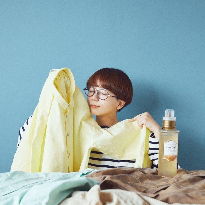 オシャレ着用洗剤、阿部朱梨ちゃんとkinokoちゃんのおすすめは、好きな香りで選ぶこと! #FUDGEシャレボン部