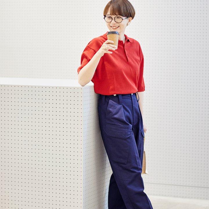 """今夏はこのネイビーパンツがMY定番に! MACKINTOSH PHILOSOPHY """"GREY LABEL"""" × kinoko × FUDGEがコラボ、おすすめの着まわしコーデを伝授"""