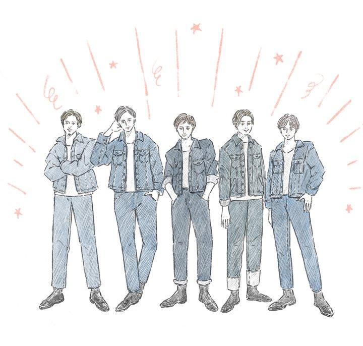数々の男性アイドルグループも衣装として指名してきた「ジージャン」【お洒落さんのためのファッション用語辞典 vol.06】