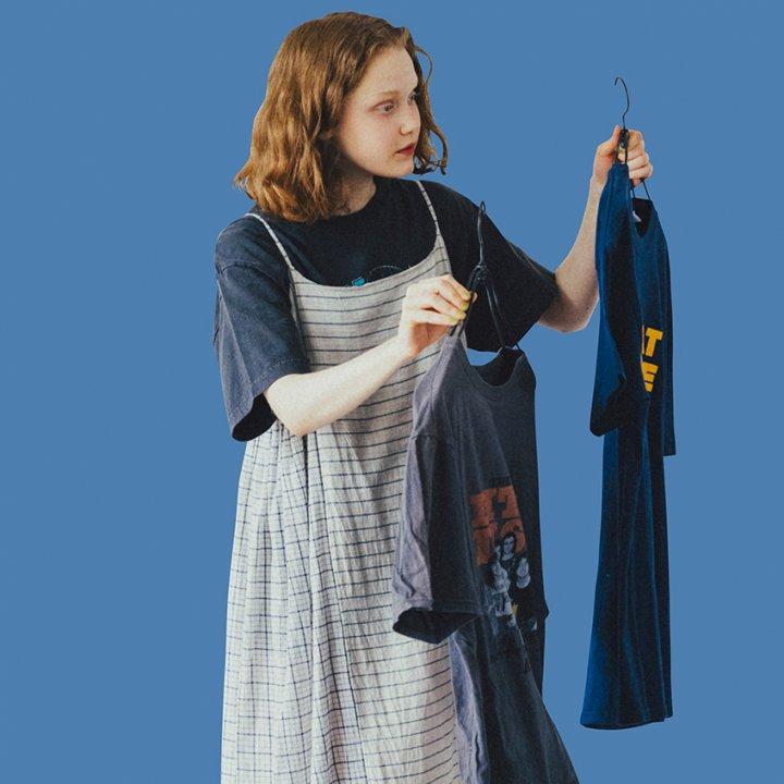 """シンプルなのに洒落て見える!夏の大本命アイテム、Tシャツを着まわし【""""Tシャツ""""ガールの着まわし7days】"""